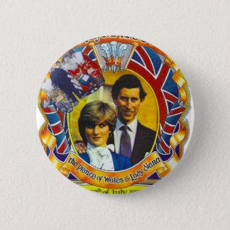Vintage Punk  80'sroyal wedding Charles and Di 6 Cm Round Badge