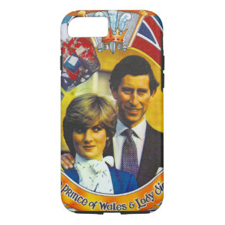 Vintage Punk 80'sroyal wedding Charles and Di iPhone 7 Case