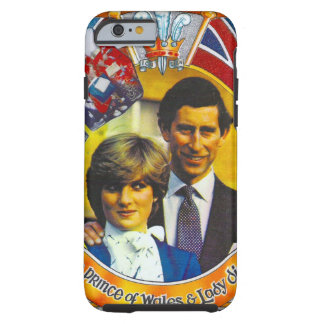 Vintage Punk 80'sroyal wedding Charles and Di Tough iPhone 6 Case