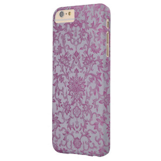Vintage Purple Floral Pattern Barely There iPhone 6 Plus Case