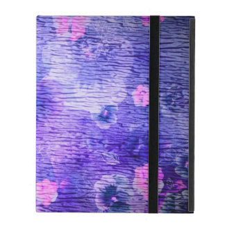 Vintage Purple Flower Spring Covers For iPad