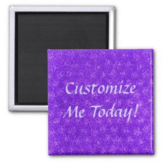 Vintage Purple Grape Violets Magnet