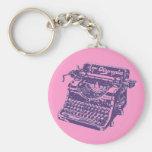 Vintage Purple Typewriter