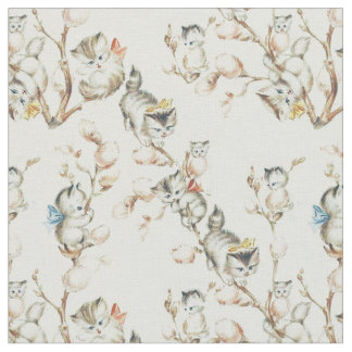 Vintage Pussy Willow Fabric