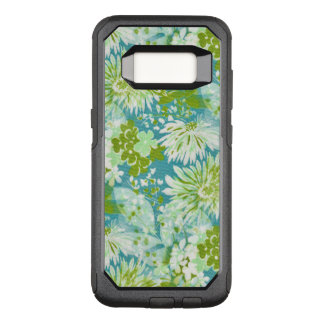 Vintage Quaint Spring Flowers Fabric Look OtterBox Commuter Samsung Galaxy S8 Case
