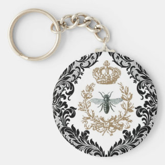 Vintage Queen Bee...keychain Key Ring