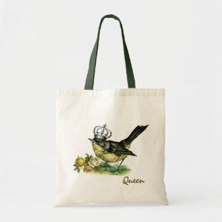 Vintage Queen Bird Valentine s Day Gift Bag