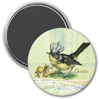 Vintage Queen Bird Valentine s Day Gift Magnet