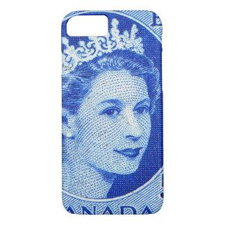 Vintage Queen Elizabeth Canada iPhone 7 Case
