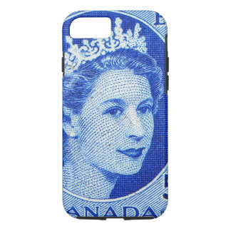 Vintage Queen Elizabeth Canada iPhone 8/7 Case