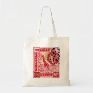Vintage Queen Elizabeth II Kenya Budget Tote Bag