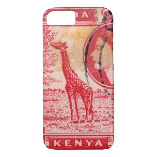 Vintage Queen Elizabeth II Kenya iPhone 7 Case