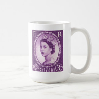 Vintage Queen Elizabeth UK Britain Coffee Mug
