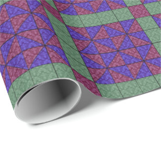 Vintage Quilting Pattern 4 - Wrapping Paper