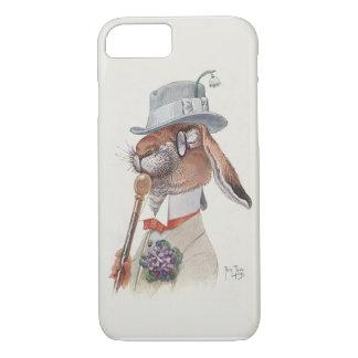 Vintage Rabbit - Anthropomorphic  Art by Thiele iPhone 7 Case