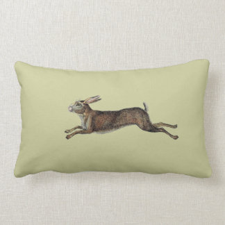 Vintage Rabbit Pillow