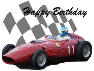 Vintage Car Happy Birthday Invitations Stationery Zazzle Au