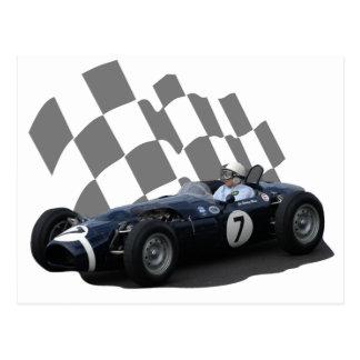 Vintage Racing Car Post Card 1