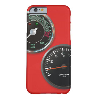 Vintage racing instruments: Classic car gauges Barely There iPhone 6 Case