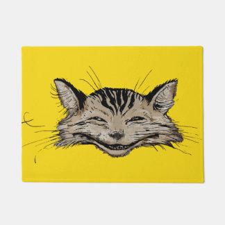 Vintage Rackham Cheshire Cat Art Doormat