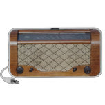 Vintage Radio 1 Notebook Speakers