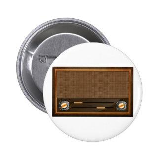 Vintage radio pin