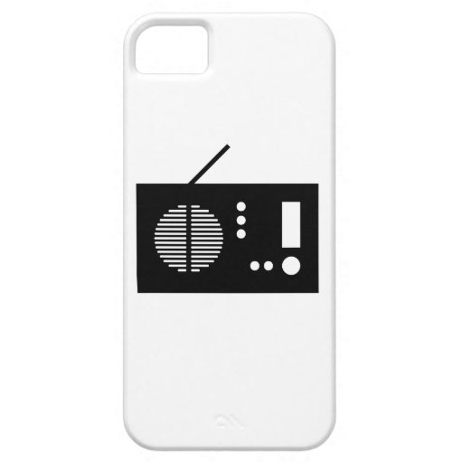 Vintage Radio iPhone 5/5S Covers