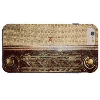 Vintage radio tough iPhone 6 plus case