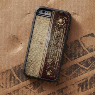 Vintage radio tough xtreme iPhone 6 case