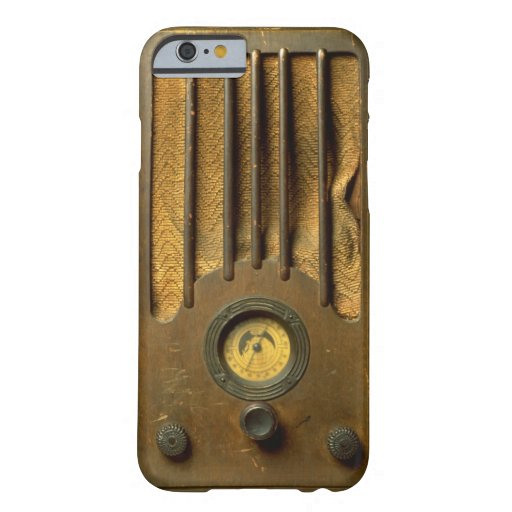 Vintage Radio Barely There iPhone 6 Case