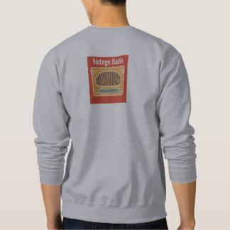 Vintage Radio Collector Personalized Sweatshirt