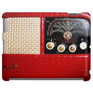 Vintage Radio in Red - iPad Case
