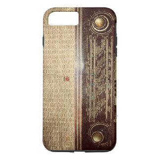Vintage radio iPhone 7 plus case