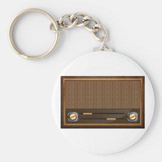 Vintage radio key chain