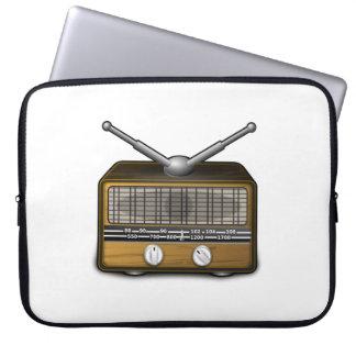 Vintage Radio Laptop Sleeves