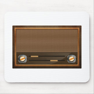 Vintage radio mousepad