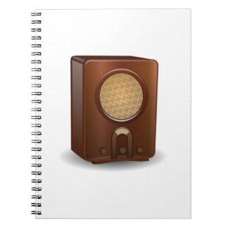 Vintage Radio Notebooks