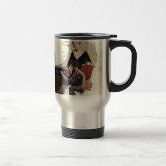 vintage radio paint 1900s coffee mugs