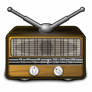 Vintage Radio Photo Cutouts