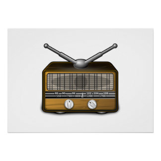 Vintage Radio Posters
