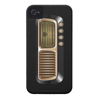 Vintage Radio Receiver iPhone 4 Case