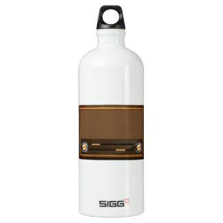 Vintage radio SIGG traveller 1.0L water bottle