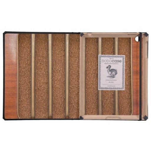 Vintage radio speaker iPad cases