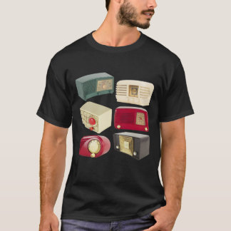 Vintage Radios Photography T-Shirt