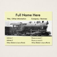 Bookmark business cards business card printing zazzle standard sized business cards vintage railroad photograph bookmark colourmoves