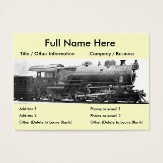 Vintage Railroad Photograph Bookmark Business Card