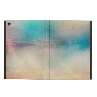 Vintage Rainbow Distressed Ombre Texture Print iPad Air Cover