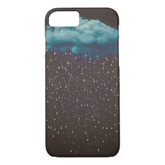 Vintage raincloud Iphone case