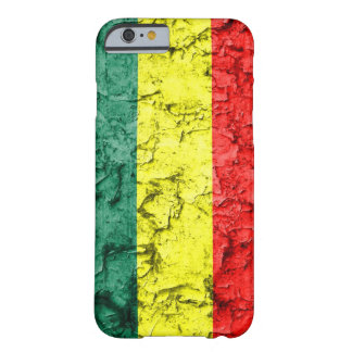 Vintage rasta flag barely there iPhone 6 case
