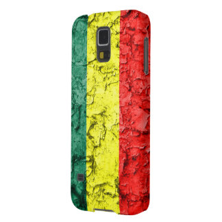 Vintage rasta flag galaxy s5 covers